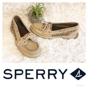 Sperry Leopard Boat Shoes! 🌸